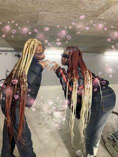 Baddie Hairstyles, Black Girls Hairstyles, Braided Hairstyles, Swag Girl Style, Girl Swag, Black Girl Braids, Girls Braids, Black Girl Aesthetic, Aesthetic Hair