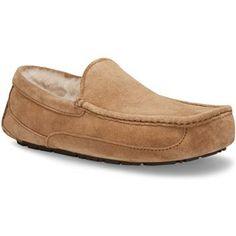 UGG® Australia Ascot Venetian Suede Slipper   from Von Maur #VonMaur #UGG #UGGSlippers #Mens
