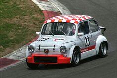 Rally Car Fiat 124 Abarth · Fiat Abarth 500