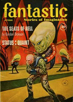 scificovers: Fantastic October 1960. Cover by Leo Summers.