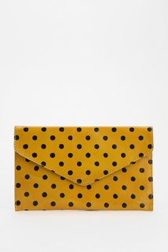 Ecote Patterned Leather Envelope Clutch
