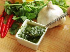 Zhug (Yemenite Hot Sauce With Cilantro and Parsley)Really nice Mein Blog: Alles rund um die Themen Genuss & Geschmack Kochen Backen Braten Vorspeisen Hauptgerichte und Desserts
