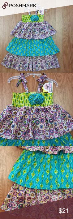 Jelly the Pug New with tags. Three layers of ruffles. Jelly the Pug Dresses