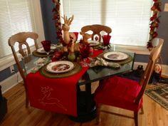 Christmas Kitchen Table