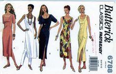 PATTERN 6788 Misses straight Dress pants semi fitted tapered princess seams NEW #Butterick #semifittedtapereddressprincessseams