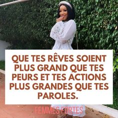 Plus Belle Citation, Courage, France, Motivation, Inspiration, Strong Women, Lenses, Wisdom, Self Confidence