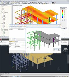 Dlubal RFEM 5 & RSTAB 8 - BIM in Structural Engineering | http://www.dlubal.com/en | #bim #cad #dlubal #dynamics #eurocode #engineering #engineeringsoftware #fem #rfem #rstab #staticanalysis #structuralanalysis