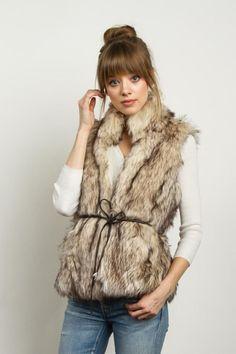 Kylie Faux Fur Vest