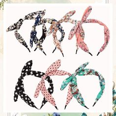 (This is an affiliate pin) Araluky 6 Pack Womens Cute Hard Headband Hair Band Bow Headbands for Women Hair Hoop Hairbands Womens Headbands, Assorted Colors Headbands For Women, Fashion Headbands, Bow Headbands, Hair Hoops, Headband Styles, 6 Packs, Headband Hairstyles, Hair Band, Bows