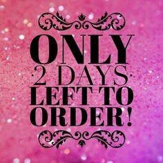 Only 2 days left to order                                                                                                                                                                                 More