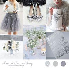 Argento per un matrimonio invernale   Wedding Wonderland