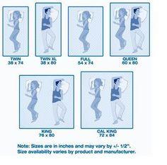 Mattress Size Chart And Dimensions Sleep Train