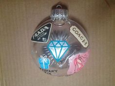 Designer Hand Painted Holiday Ornament