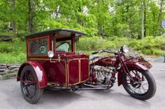 custom coachwork for an Indian sidecar.