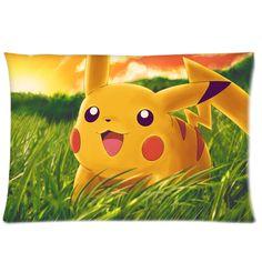 "Pokemon Pikachu Decorative Standard Size Pillow Case 20""x26"" | @CaseCoco Free Shipping $20.95"