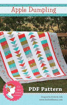 Apple Dumpling Downloadable PDF Quilt PatternIt's Sew Emma - Quilt Patterns | Fat Quarter Shop
