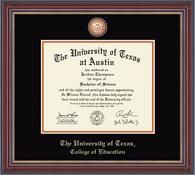 University of Texas Austin- College of Education Diploma Frame - Masterpiece Edition