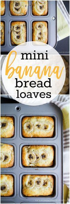 Mini Banana Bread Lo