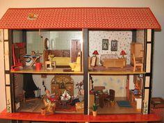Sio-Dollhouse m Lundby-Lisa-Furniture Dollhouse-Doll kitchen | eBay