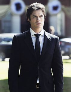 ian somerhalder suit tie windsor knot