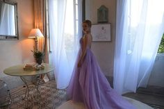 Kristina - Zradila nás chémia/ dress by Jana Gavalcova / Lago di Como / Italy Como Italy, Prom Dresses, Formal Dresses, Celebrity, Fashion, Moda, Formal Gowns, Celebrities, Fasion