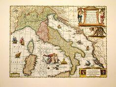 mappe antiche italia - Cerca con Google