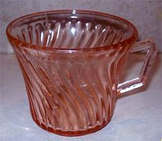 Spiral Depression Glass by Hocking Glass