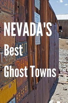 There are more ghost towns in Nevada than towns occupied by the living. By that count, it would take you years, if not a lifetime, to explore all the ghost towns in the state. If you want to whittle that task down to something more manageable, here are 6 Las Vegas, Haunted Places, Abandoned Places, Abandoned Mansions, Wild West, Ghost Towns In Nevada, Places To Travel, Places To See, Route 66