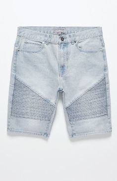 Bullhead Denim Co. Moto Denim Shorts