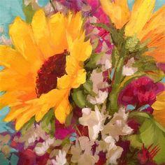 "Daily Paintworks - ""Sweet Summer"" - Original Fine Art for Sale - © Krista Eaton"