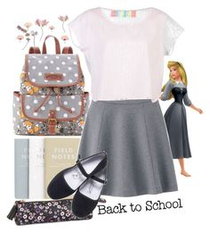 """""""Briar Rose Back to school Disneybound"""" by cristeen97 ❤ liked on Polyvore featuring UNIONBAY, H&M, Uniqlo and Surf Bazaar"""