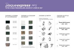Plaques funéraires et ornements : tous les prix, tarifs et coûts - Pompes Funèbres Générales (PFG)