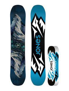 Jones Snowboards Men's Mountain Twin Snowboard