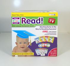 Your Baby Can Read Volumes 1, 2, 3, & 4 DVD's, Cards, & Books Complete New #YourBabyCanRead