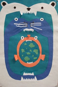 Ocean or Arctic (Tundra) Food Chain Collage