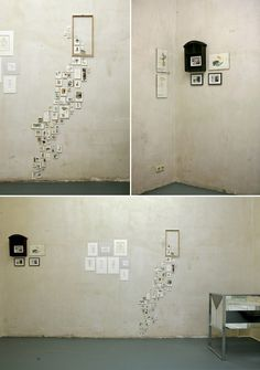Beautiful display of tiny pictures.