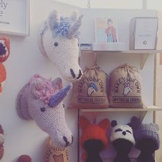 Announcement time! My first ever 'Maker of the Month' is @bexx014! Congratulations, my brand new unicorn kit is yours! And my runners up all win a pattern of your choice. To be in for a chance of winning next month just send a photo of your #Sincerelylouise project! 💕 #knitting #craft #fauxtaxidermyknits #etsy #diy #handmade #unicorn #makeyourown #wool #yarn #knittersofinstagram