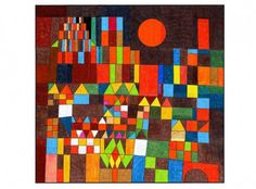"Paul Klee was a Swiss artist (1879–1940) who experimented and eventually mastered color theory. This mural of his famous ""Castle … Read More"