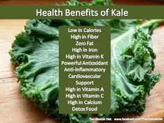 KALE - Health Benefits