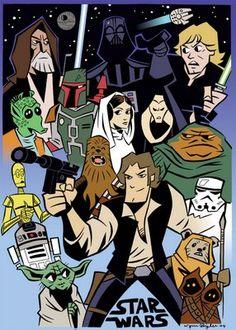 Cool Star Wars Cartoon