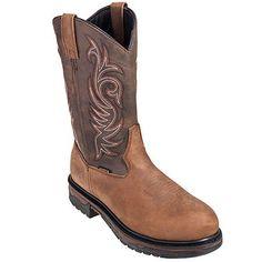 Laredo Boots Men's Waterproof 68132 Steel Toe Cowboy Boots