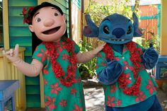 WDW Dec 2008 - Meeting Lilo & Stitch by PeterPanFan, via Flickr