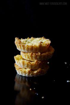 Kukurydziane kruche ciasto - bez glutenu z bloga Słodkie Przyjemności