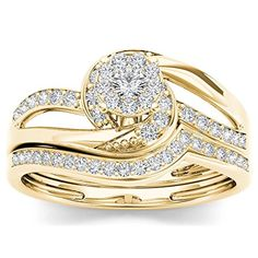 10Kt Yellow Gold 0.33 Ct Diamond Engagement Bridal Set Ri... https://www.amazon.co.uk/dp/B01JBL4ASG/ref=cm_sw_r_pi_dp_x_TsOHybQ4XSE3K