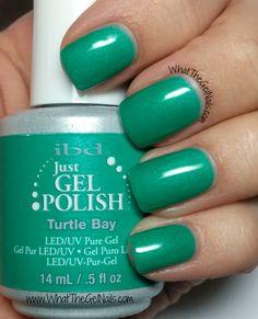 IBD Turtle Bay, plus more IBD Just Gel Swatches for Spring