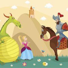 San Jorge ha pasado a la historia junto con la leyenda dragón, un mito que surgió durante la Edad Media. Cuento corto de San Jorge y el Dragón. Leyendas y mitos para niños.