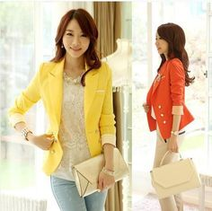 I found some amazing stuff, open it to learn more! Don't wait:https://m.dhgate.com/product/new-2014-korea-style-yellow-blazers-clothes/204378083.html