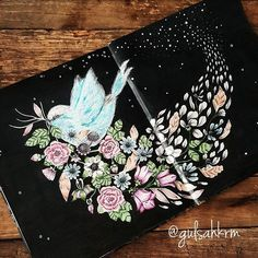 Blomster Mandala Coloring Book Johanna Basford Coloring Book, Markova, Mandala Coloring, Coloring Book Pages, Colored Pencils, Color Inspiration, Inner Child, Prismacolor, Instagram