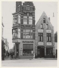 Kruisstraat, hoek Ridderstraat 1947