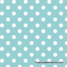 Dot to Dot in Aqua by Michael Miller Fabrics DC5153-Aqua-part of the Sarah Jane collection for Michael Miller Fabrics